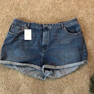 ASOS Curve Jean Shorts NEW